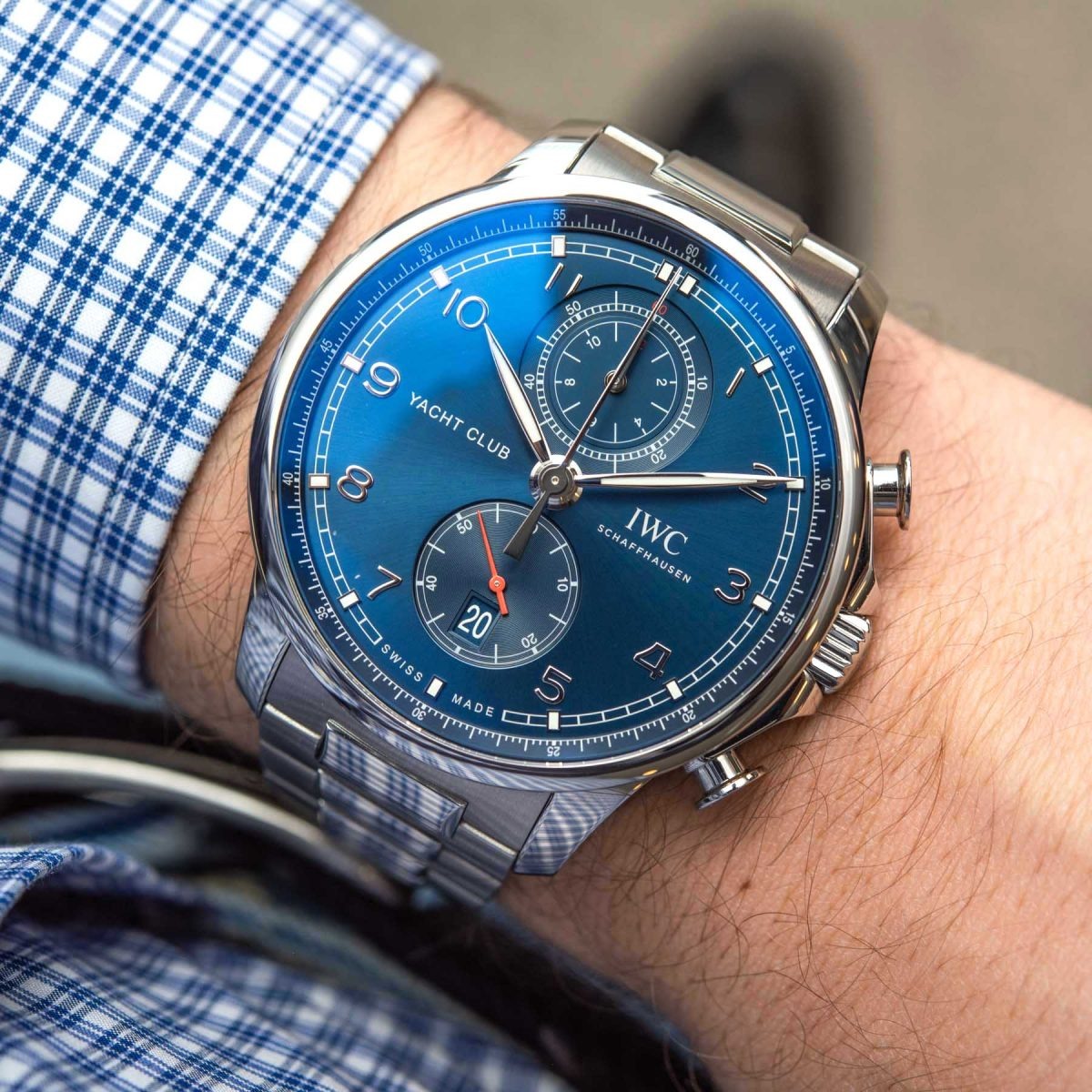 Hands-On Debut:Luxury IWC Portugieser Yacht Club Chronograph Replica Watches
