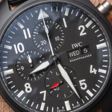 Cheap Replica IWC Pilot's Watch Chronograph TOP GUN Watch Review