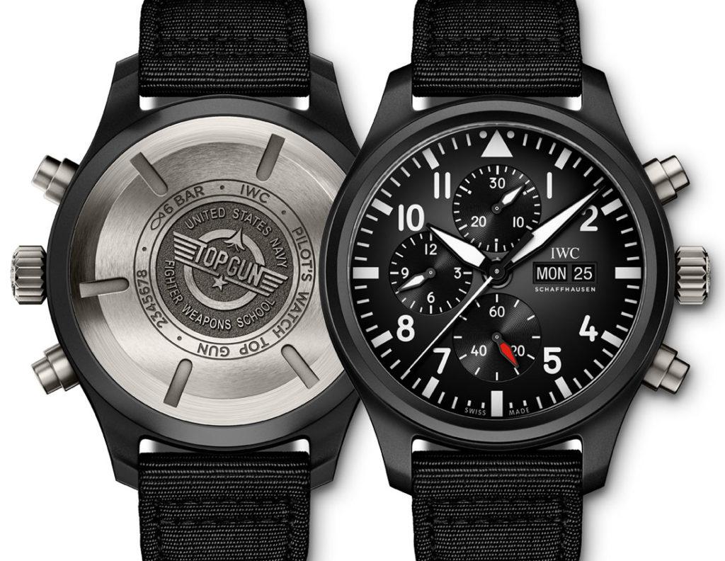 Cheap Pilot's Watch Chronograph Top Gun IW389101 and the Pilot's Watch Automatic Top Gun IW326901 Replica Watches