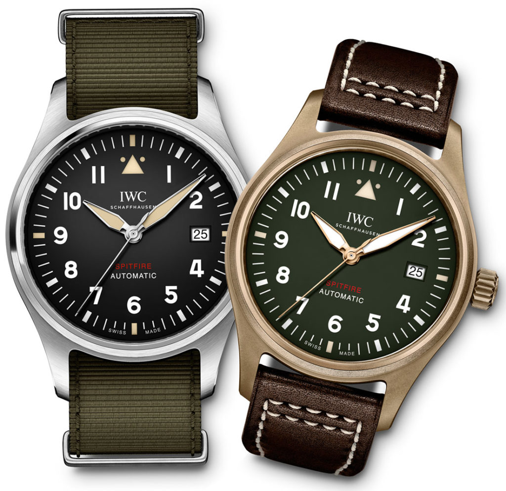 Hands On:High Quaitly Replica IWC Pilot's Watch Spitfire Collection Watches