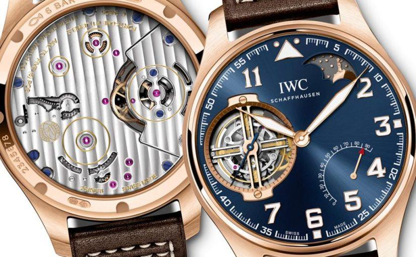 Luxury IWC Big Pilot's Watch Constant-Force Tourbillon Edition 'Le Petit Prince'