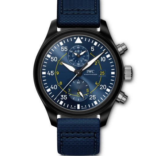 """Flying High:AAA IWC Announces Pilot's Watch Chronograph Edition """"Blue Angels"""" Replica Watches"""