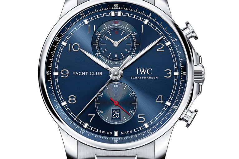 On Hands of Perfect IWC Portugieser Yacht Club Chronograph Replica Watches