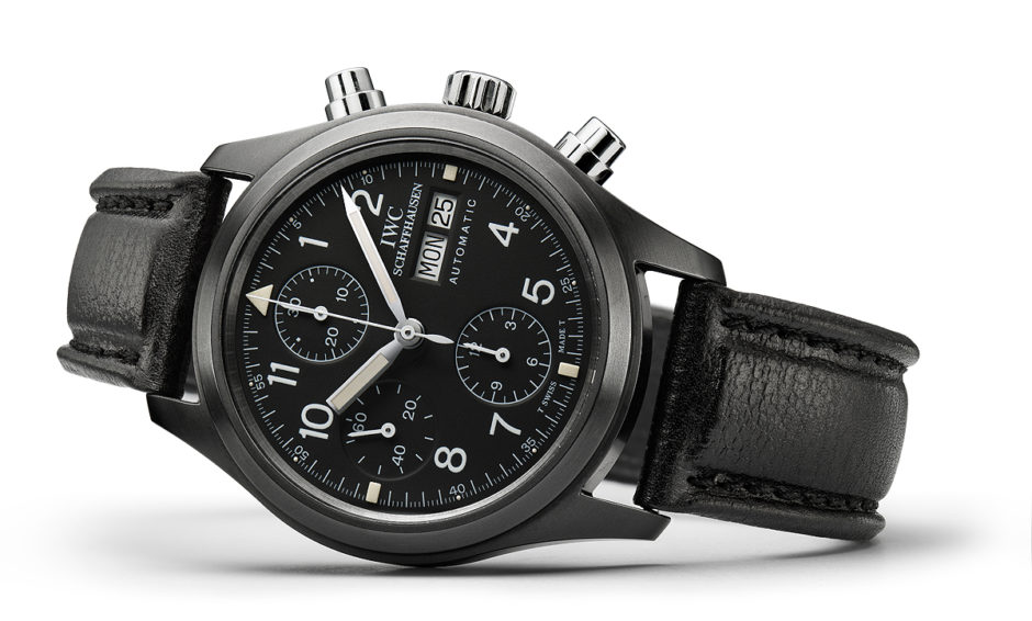 """Best New IWC Pilot's Watch Chronograph Edition """"Tribute to 3705"""" Replica Watches"""