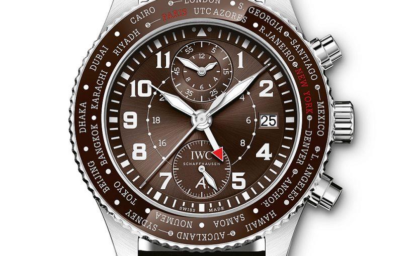 New Best IWC ReplicaPilot's Watch Timezoner Saint Exupéry Limited Edition