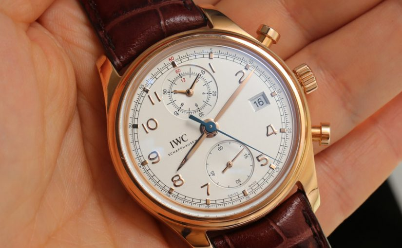 Go To Buy IWC Portuguese Chronograph Classic Replica Watch